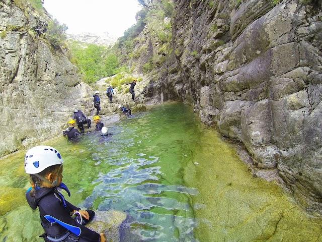 Canyoning Corse Bocognano