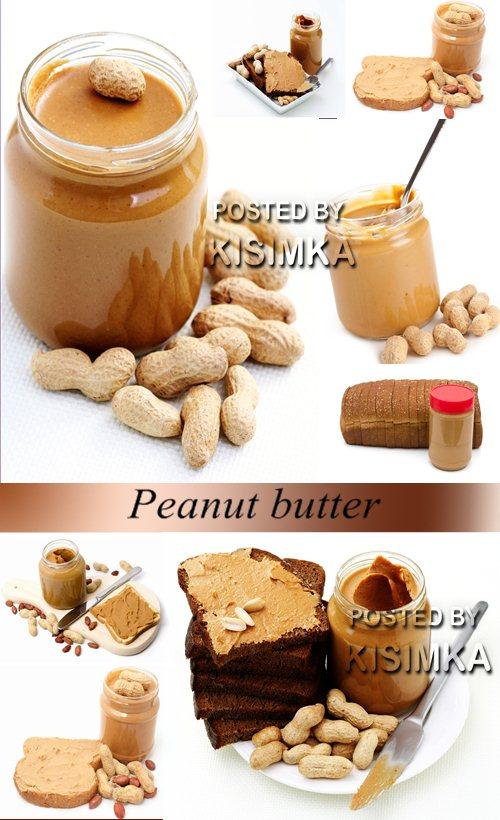 Stock Photo: Peanut butter