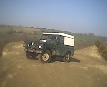 One of the first pictures of my land rover