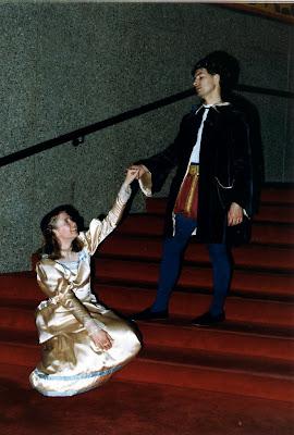 Her dashing Prince!