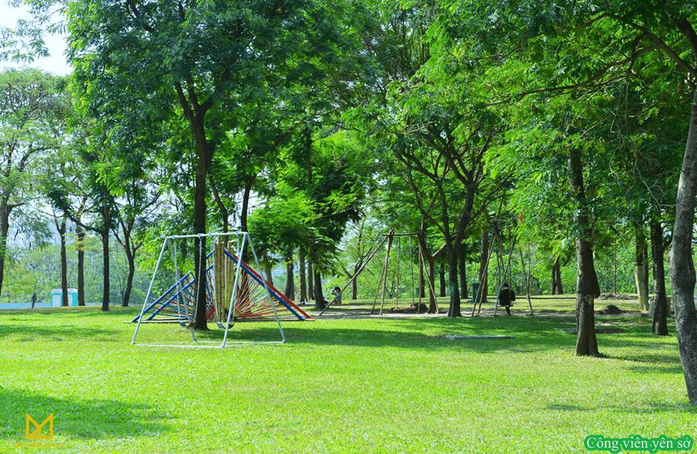 Công viên Yên Sở - liên kết vùng của dự án 360 Giải Phóng
