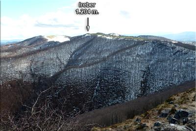 Ireber desde la cima de Zuperrori