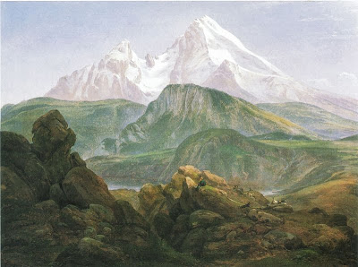 Johan Christian Dahl - Watzmann