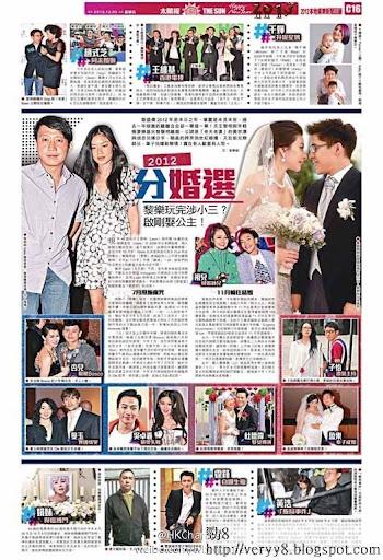 2012年香港娛樂圈大事回顧