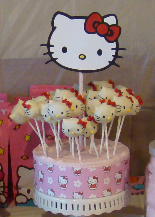 Yummy Thingy: Hello Kitty Cake and Party Theme