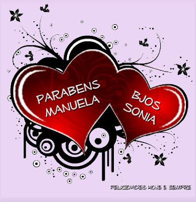 Feliz Aniversário Manuela!!! Manuela