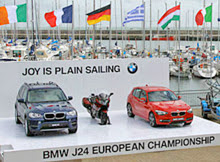 BMW Ireland sports cars/ automobiles- sponsoring J/24 Worlds