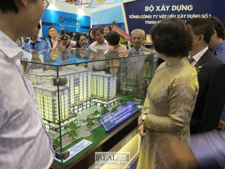 Mô hình kiến trúc REALEYE ra mắt mô hình kiến trúc Cao ốc Long Thịnh