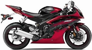 2011 Yamaha R6 Red