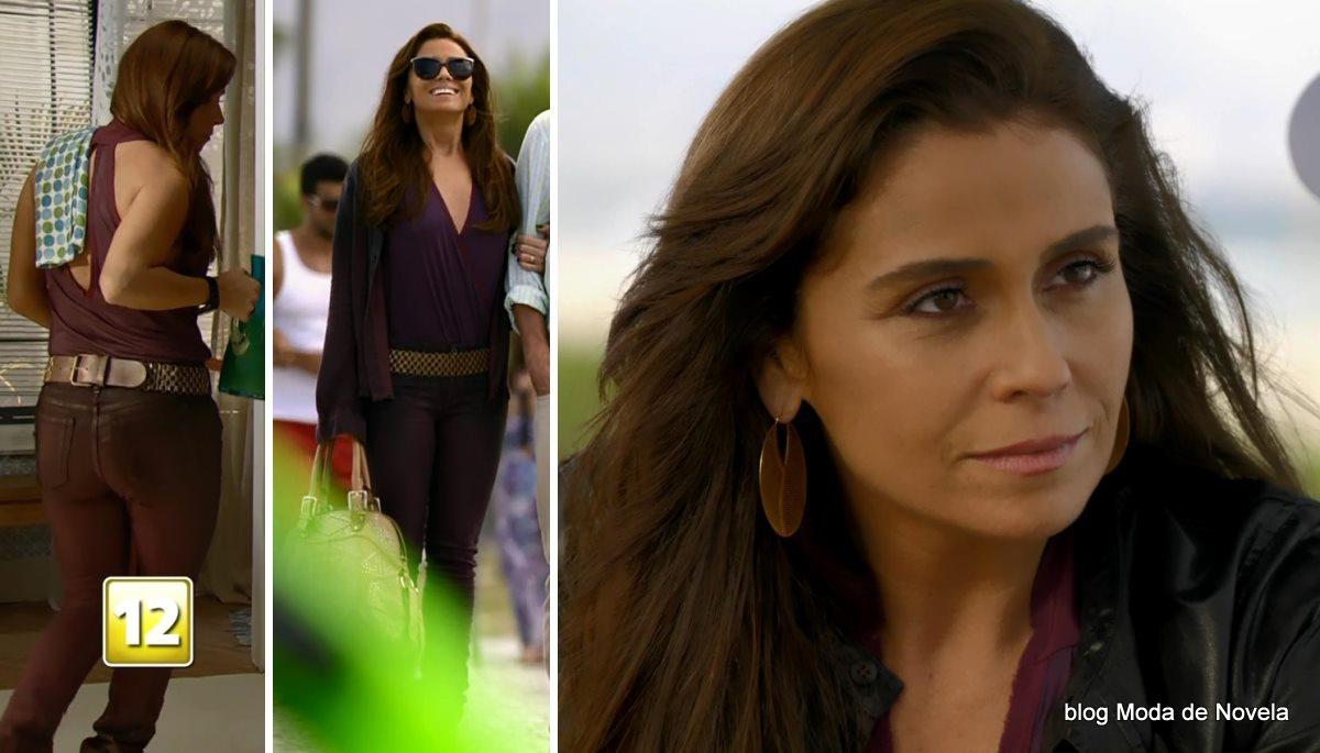 moda da novela Em Família - look da Clara dia 24 de maio