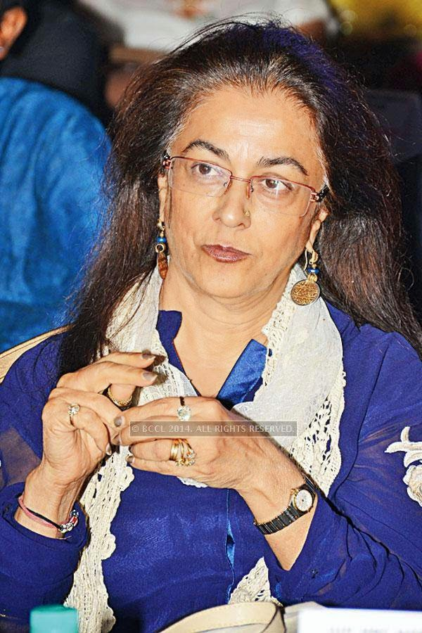 Renu Siraj during the Design Awards, held in Hyderabad.<br />