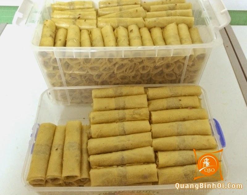 Ram giòn Quảng Bình trước khi rán tại Quảng Bình Ơi