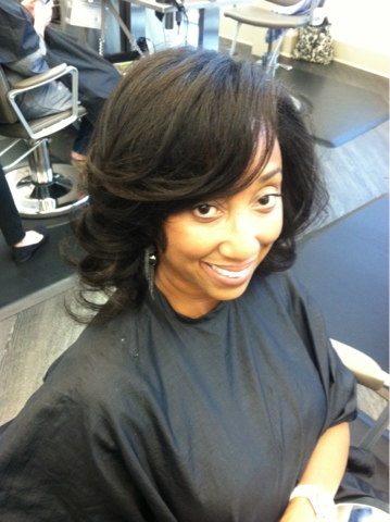 Natural Hair Roller Wrap Haircolour Facecolour By Patience B Moore