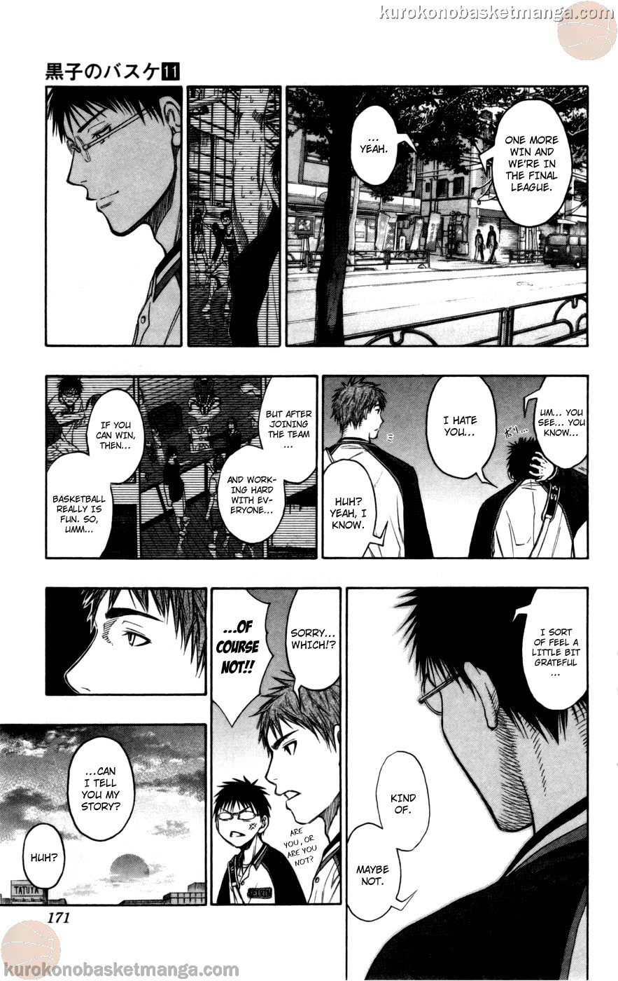 Kuroko no Basket Manga Chapter 98 - Image 05