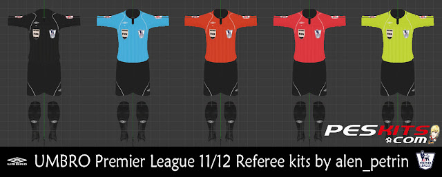 Referee Premier League 11/12 Kitset - PES 2012