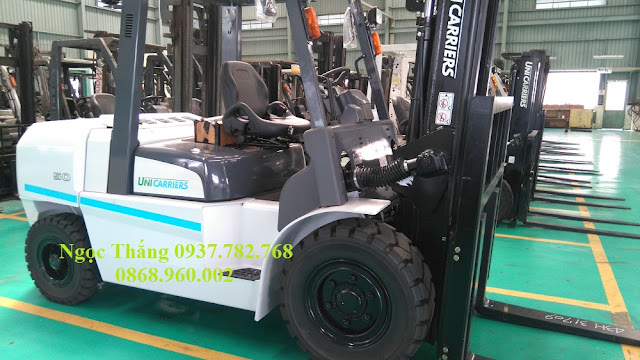 Xe nâng diesel 5 tấn Nissan Unicarriers