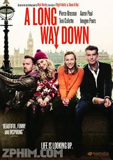 Chết Đâu Có Dễ - A Long Way Down (2014) Poster