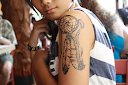dreamcatcher tattoos on arm 1