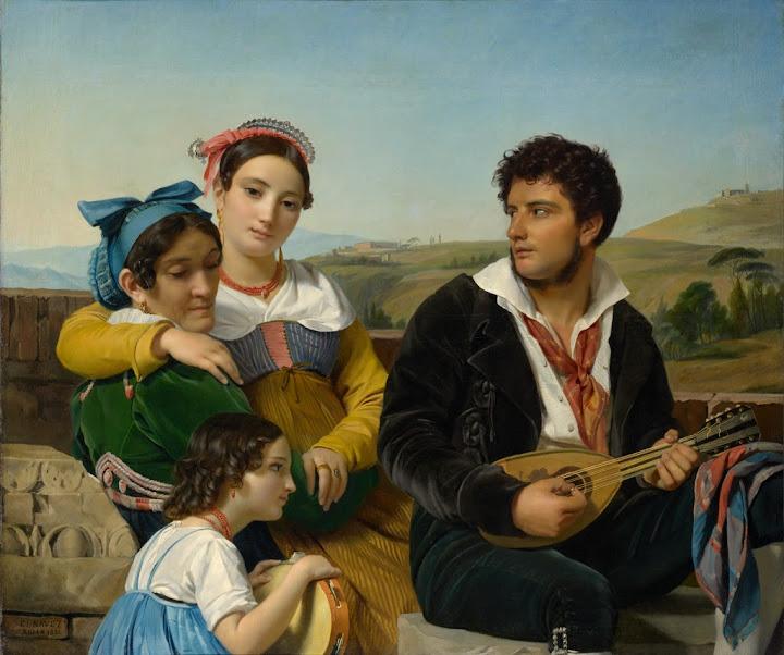 François-Joseph Navez - Musical Group, 1821