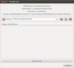Renombrando archivos desde Nautilus o como aplicación
