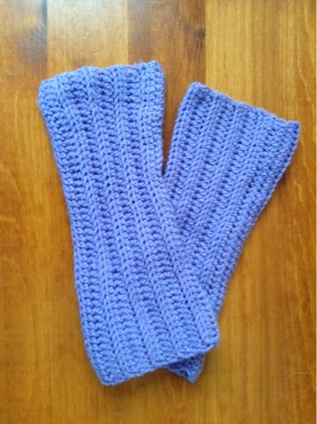 Tess And Annie Easy Ribbed Leg Warmers Free Crochet Pattern