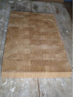 plan de travail en ch ne avec billot de boucher omcb olivier moins cr ation bois montage de. Black Bedroom Furniture Sets. Home Design Ideas