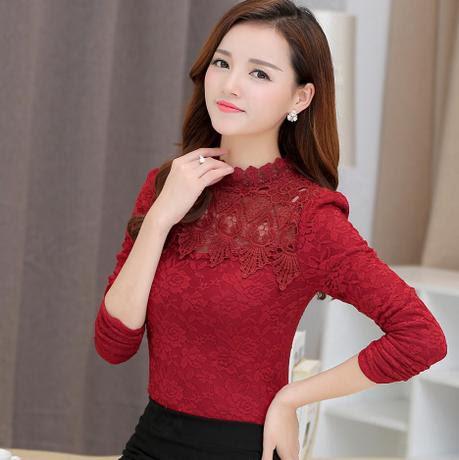 Bộ áo ren hoa hồng phối ren đẹp chỉ với 290,000đ