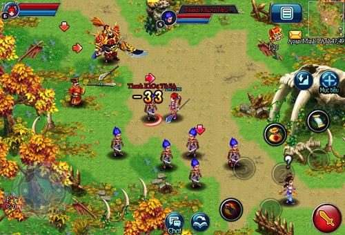 VTC Mobile phát hành game mobile Hoàng Đế Online 1