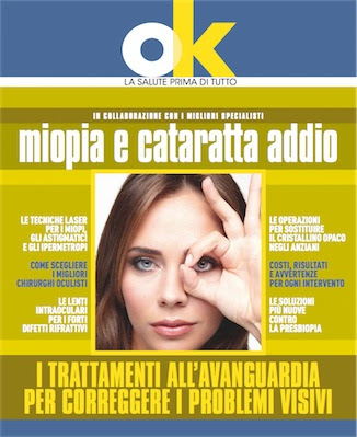 Manuale - libri di Ok salute -Miopia e Cataratta addio (2012) Ita
