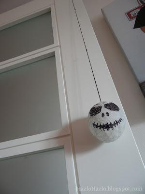Cómo hacer decoración para Halloween.