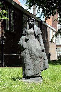 Sculpture in Amsterdam