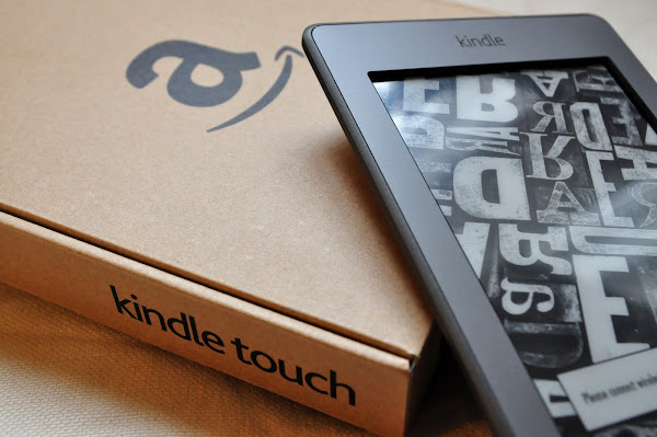 Kindle, Kindle Touch, Amazon, e-reader, books