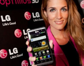 optimus Smartphone LG claims first in the world 3D screen