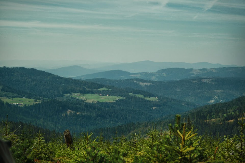 Widok z Zielonego Kopca