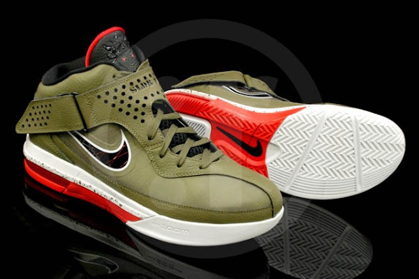Actual Photos of Nike LeBron Soldier 5 in Iguana and Orange
