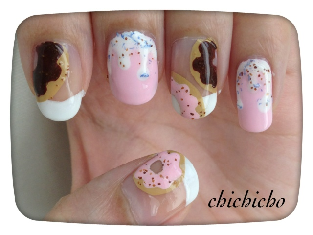 Canmake Nail Topping Coat 畫 Donut