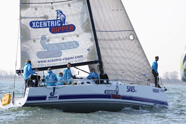 J/111 Xcentric Ripper sailing Netherlands Delta Lloyd North Sea Race Week