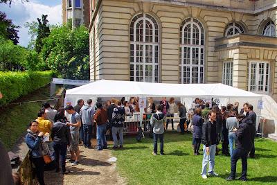 Bière et frites à la Fondation BIERMANS-LAPÔTRE