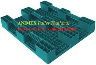 Pallet nhựa 3 thanh chặn Thái Lan