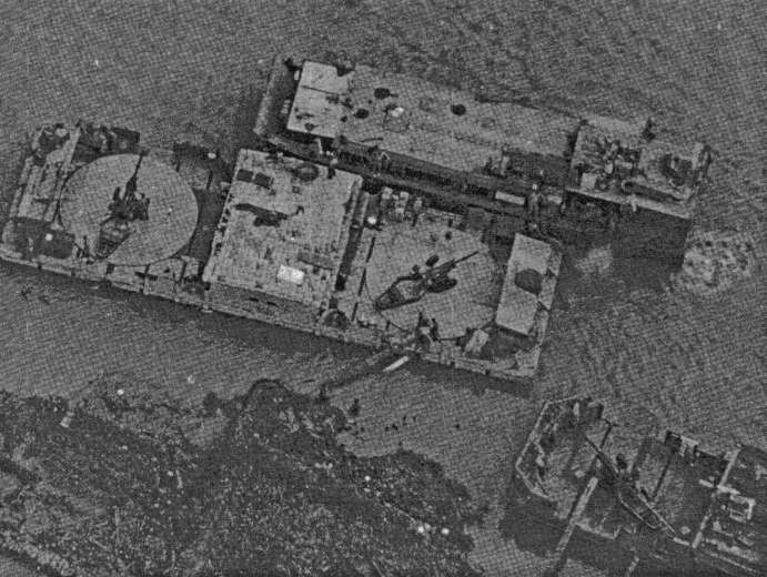 Из-за острова на стрежень, или американские плавучие батареи во Вьетнаме