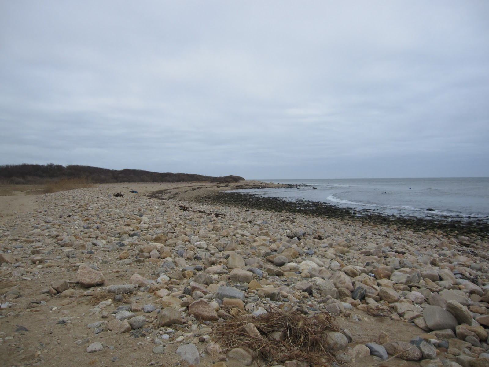 The Deserted Beach At Montauk Point