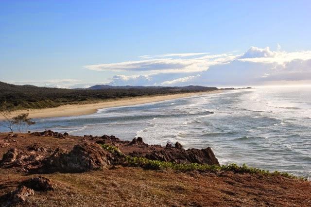 Golden beach, Red Rock, Australia