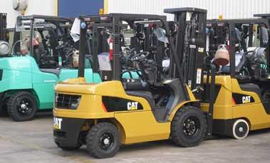 Xe nâng Mitsubishi CAT - Diesel LPG