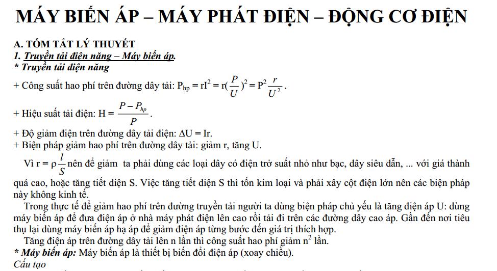 may phat dien