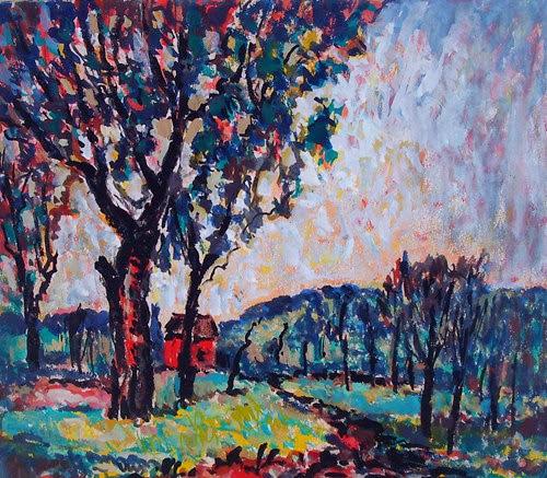 Francis Focer Brown - Modernist Landscape