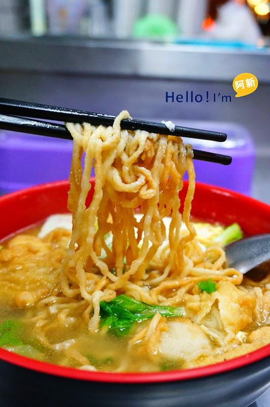 台南保安路小吃,醇涎坊鍋燒意麵-8