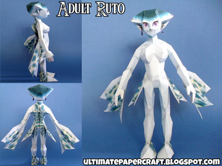 Princess Ruto Papercraft