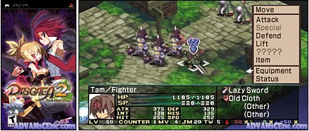 Disgaea 2: Dark Hero Days – USA PSP Download !!