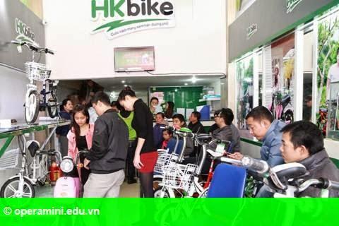 Hình 1: HKbike khuấy đảo thị trường xe điện dịp giáp Tết