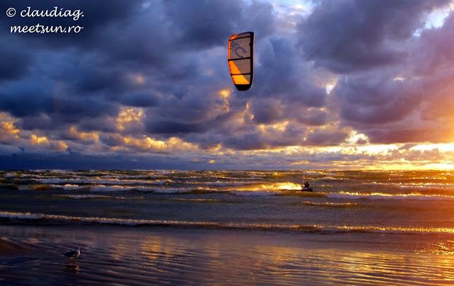 kitesurfing la Marile Lacuri